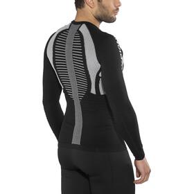 X-Bionic The Trick Running Shirt LS Herr black/white